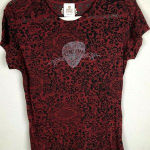 Grand Ole Opry Nashville T shirt sz L Burn Out